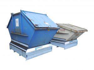 DD 100 - Der Containerstellplatz für Deckelcontainer