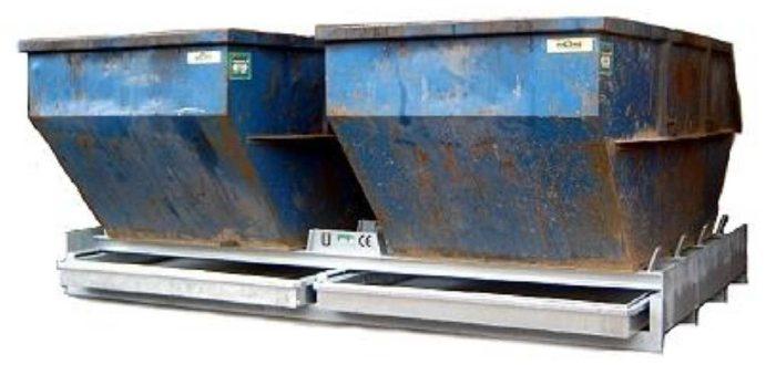 Der Containerstellplatz CONSTELLMAT vom Typ DNW 70-140