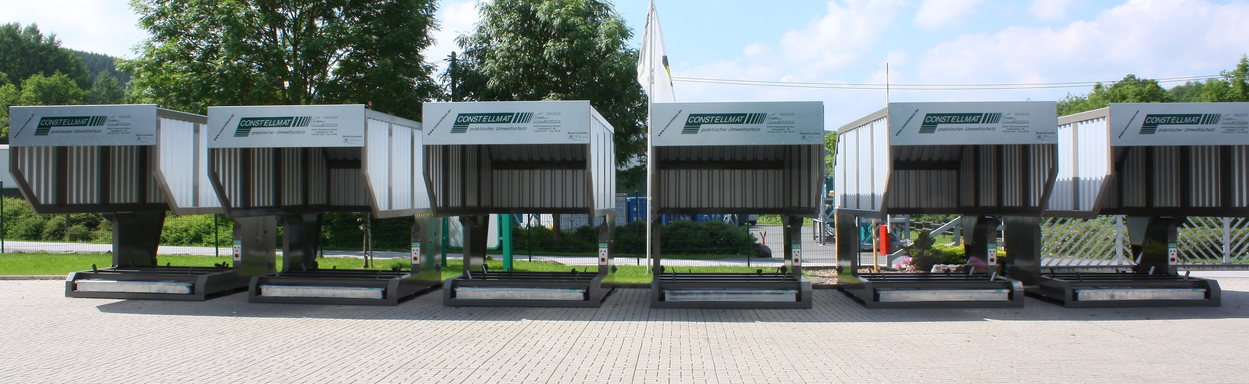 Containerstellplätze CONSTELLMAT