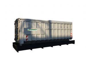 Containerstellplatz für Abrollcontainer